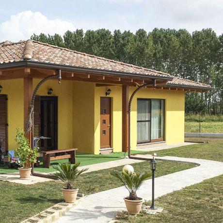 Case prefabbricate in legno for Foto di case in legno