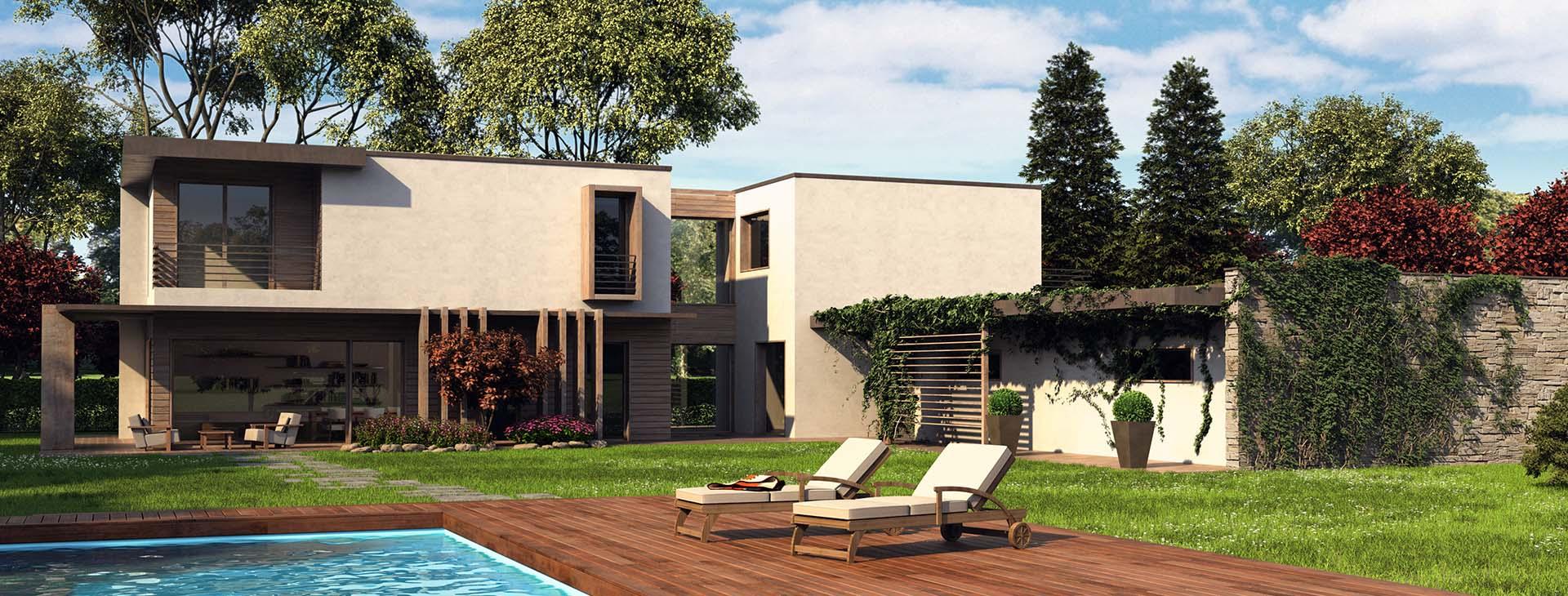 Case prefabbricate stile moderno for Ville stile moderno